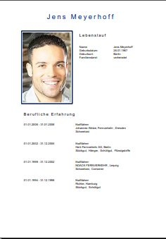 key account manager lebenslauf bewerbung - Lebenslauf Manager
